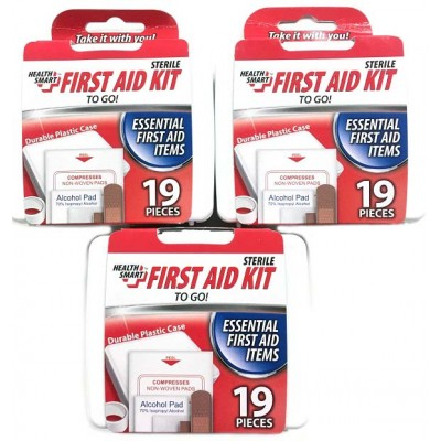 First Aid Kit 19 pc