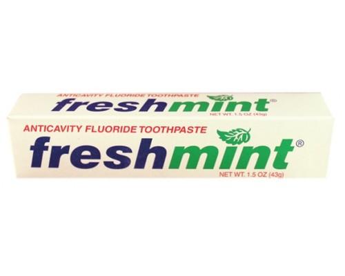 Freshmint 1.5 oz. Toothpaste $0.48 Each.