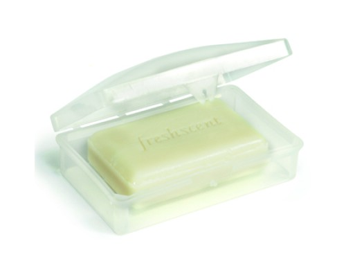 Clear Hinged Soap Dish