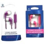 ONN Pink & Purple Earbuds