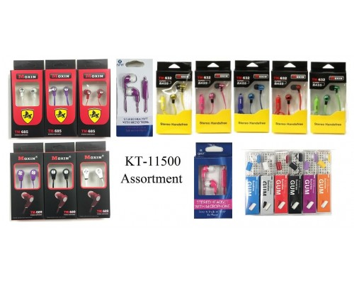 Assorted Ear Buds $1.95 Each