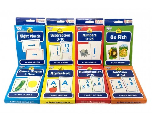 School Zone Flash Cards $0.98 Each.