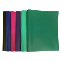 Two Pocket Poly Folders w/ Prongs
