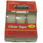 3 Pack Clear Tape
