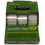 3 Pack Invisible Tape