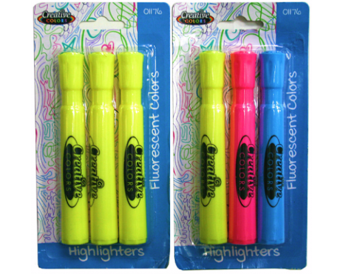 School / Office Highlighters $0.98 Each