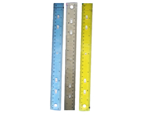 Plastic School Ruler $0.25 Each
