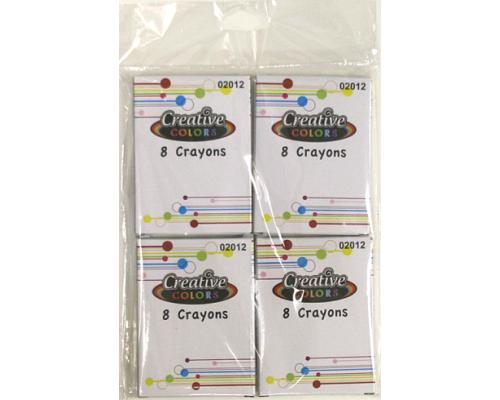 8 ct. 4 pk. Crayons