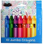 Jumbo Crayons $0.88 Each