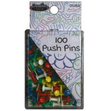 Color Push Pins 100 ct.