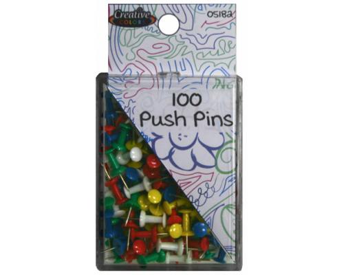 Color Push Pins $0.78 Each.
