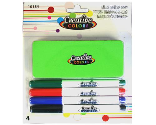 Dry Erase Fine Marker Combo