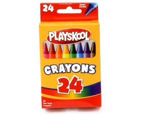 Playskool Crayons 24 ct $0.85 Each