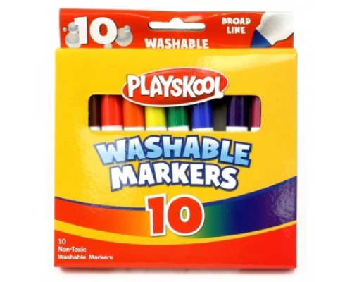 Playskool Washable Markers 10 Pack