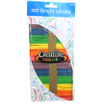 Craft Sticks Colored $0.95 Each.