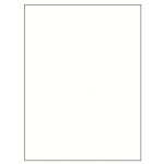 White Poster Board $0.40 Each
