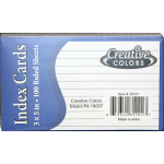 "Wholesale 3"" x 5"" index cards $0.52 Each."