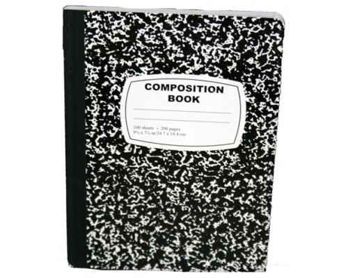C/R Composition Notebooks $0.85 Each