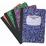 W/R Composition Notebooks $0.90 Each.