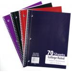 Wholesale school notebooks C/R $0.70 Each.