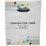 Construction Paper $0.98 Each.