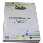 Construction Paper 150 Sheets