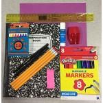 Wholesale school supply kit $3.75 Each.