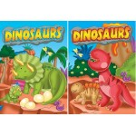 Dinosaurs Embossed Coloring Books
