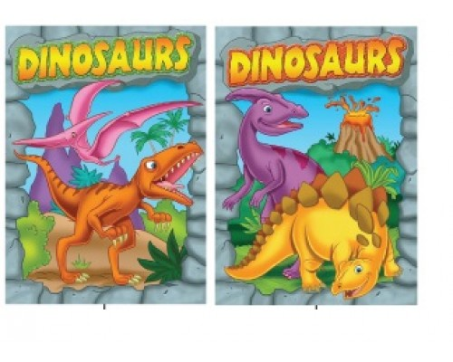 Dino Coloring Books $0.90 Each.