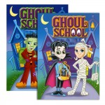 Ghoul School Coloring Books $0.90 Each.