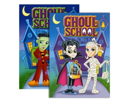 Ghoul School Coloring Books
