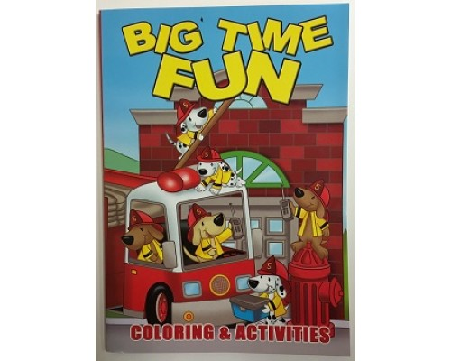 Big Fun Coloring Books $0.90 Each.