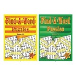 Find-A-Word Puzzles $0.90 Each.