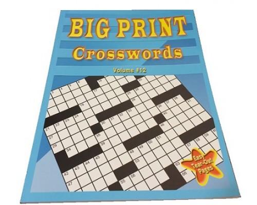 Crossword Puzzles $0.90 Each.