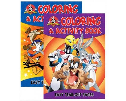 Looney Tunes Color & Activity Book $0.95 Each.