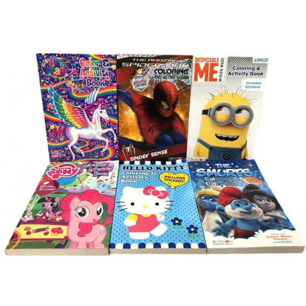 Travel Size Coloring Books