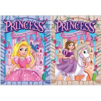 Princess Color & Activity Books