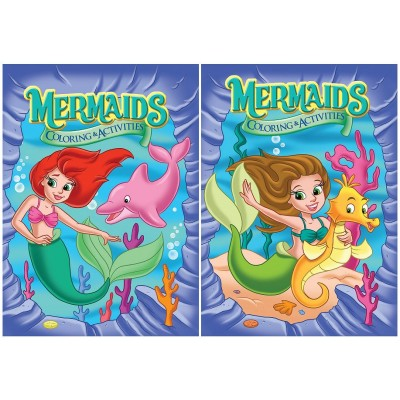 Mermaids Color & Activity Book