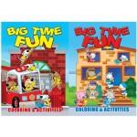 Big Time Fun Coloring Books