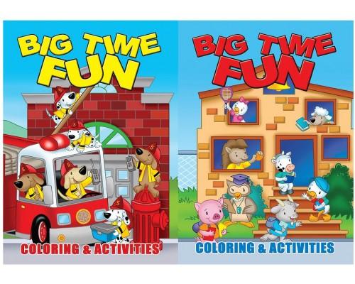 Big Fun Coloring Books