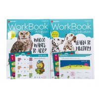 Bendon Early Learning Math Workbooks 2 Titles