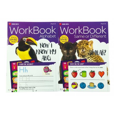Bendon Early Learning Licensed Workbooks 2 Titles