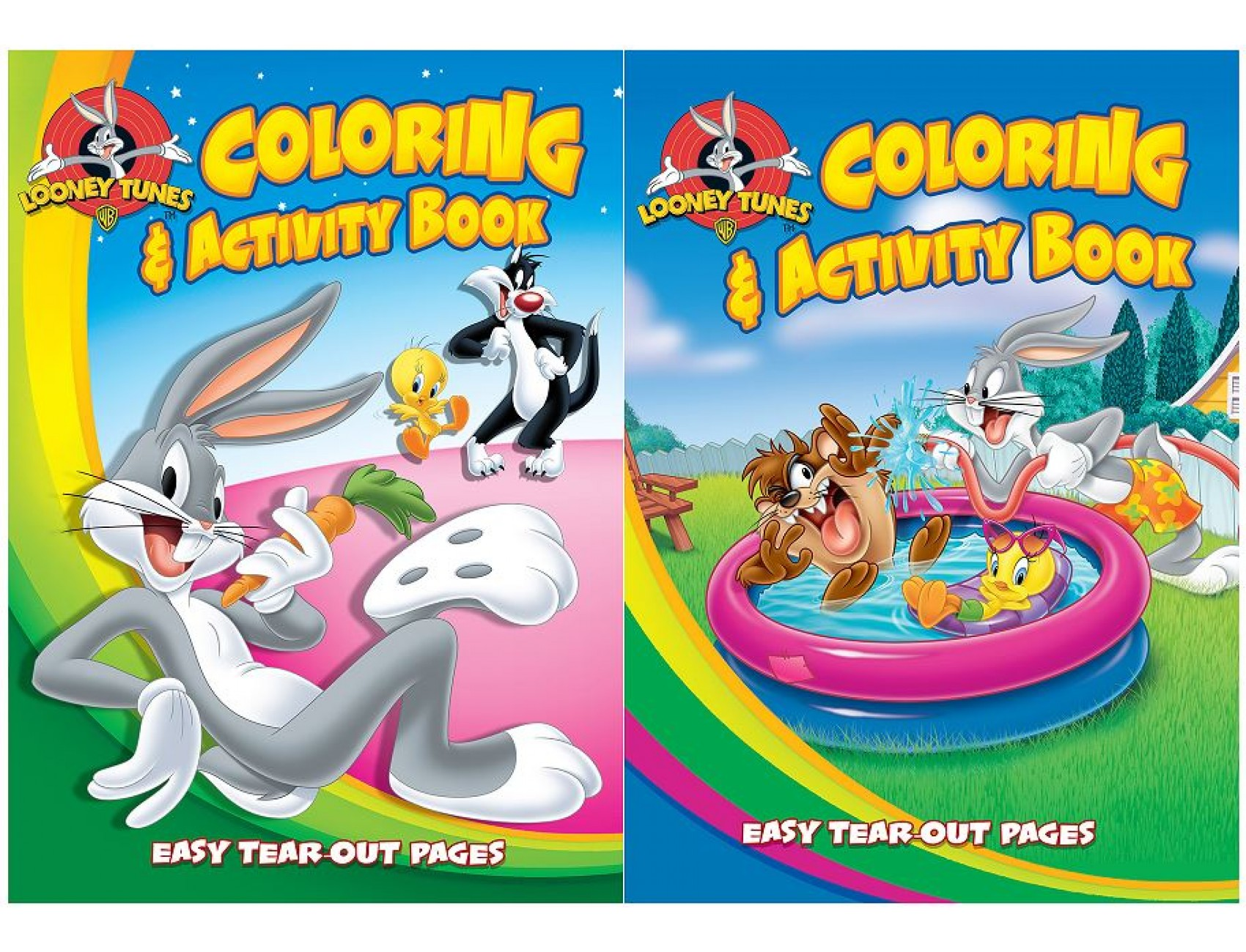 - Wholesale Coloring Books With Activities Inside. Looney Tunes Bulk