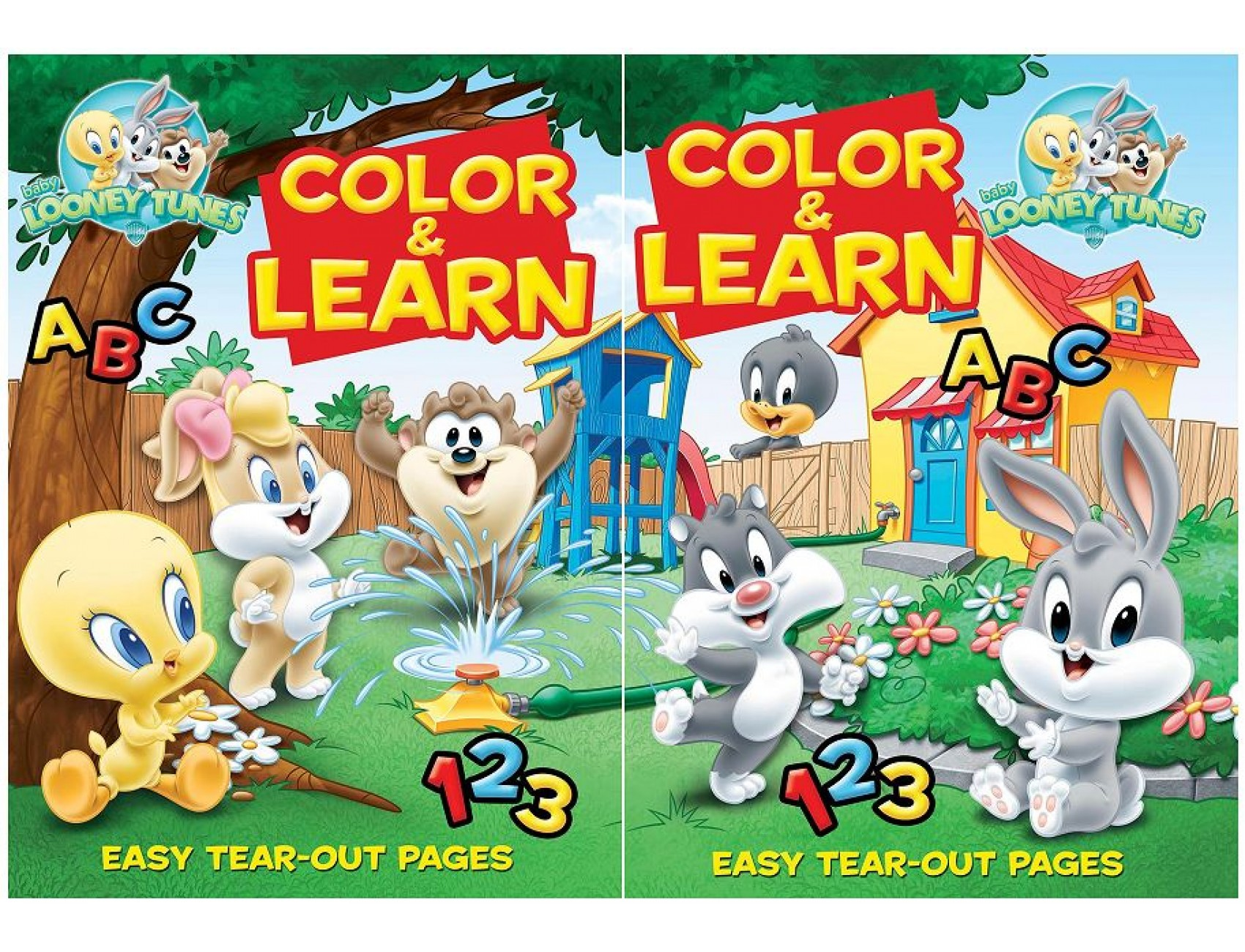Looney Tunes Coloring Book Pictures Christmas Baby Of Animals ... | 1300x1700