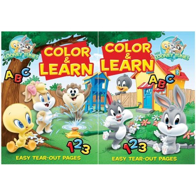 Baby Looney Tunes Coloring Books