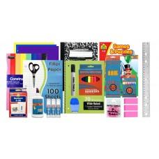 65 Pc. Primary School Supply Kits