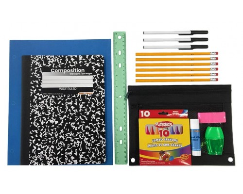 27 Pc. Universal Wholesale School Supply Kits