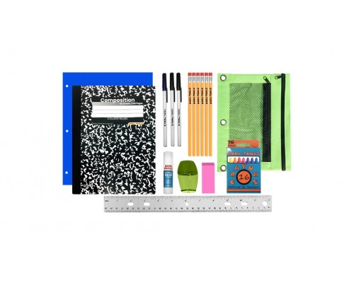 10 Pc. School Supply Kit $4.55 Each.
