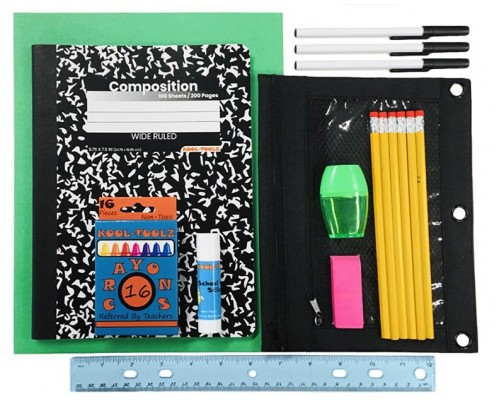 33 Pc. Universal School Supply Kits