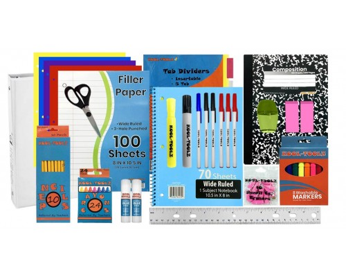 85 Pc. Elementary School Supply Kits